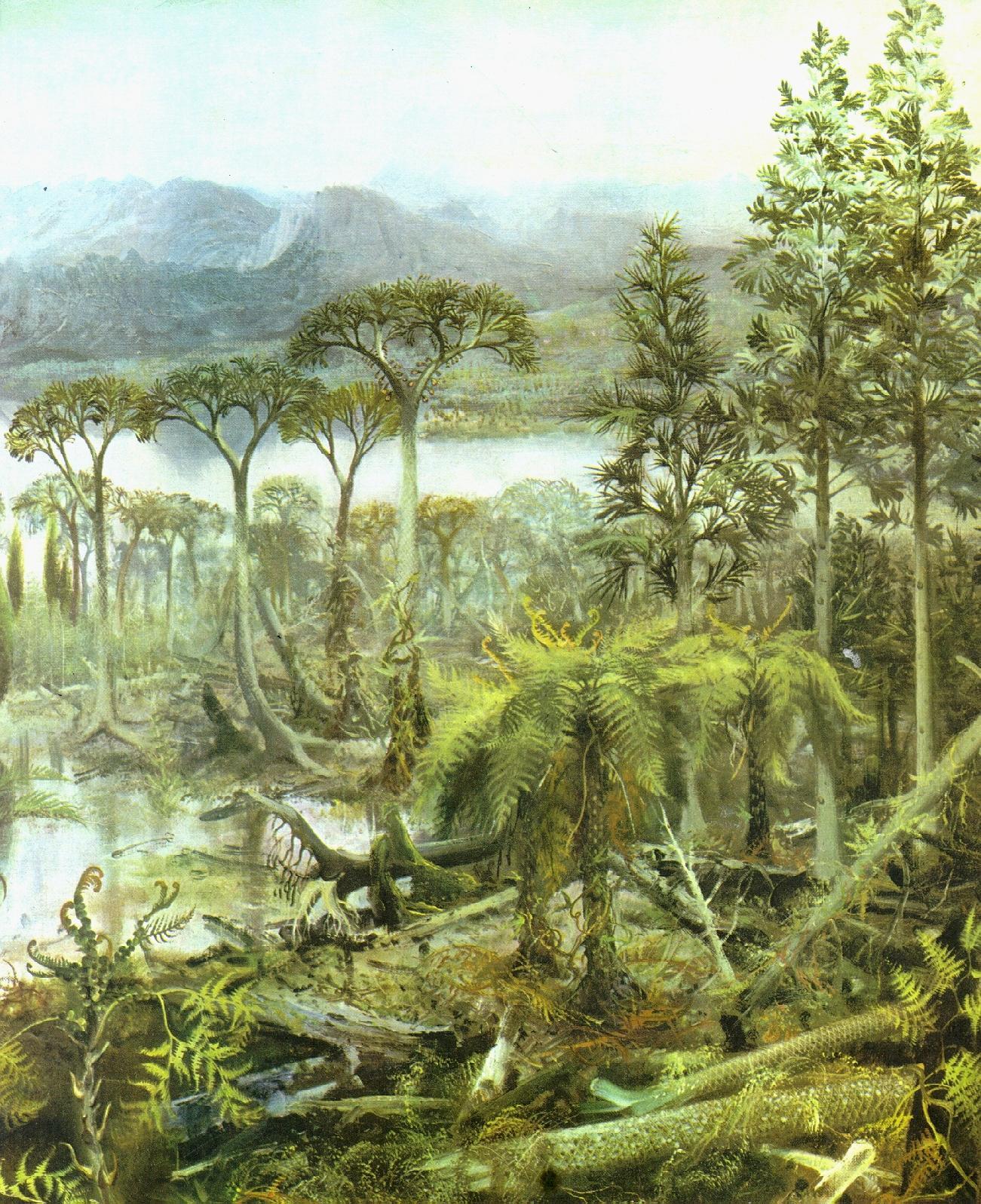 Палеозойская эра фотографии