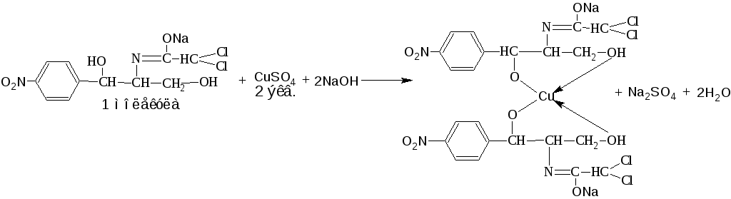 vnaoh контрольный опыт vnaoh на определение  3 Куприметрический метод Основан на свойстве спиртов образовывать с меди ii сульфатом в щелочной среде устойчивые комплексные соединения прямое