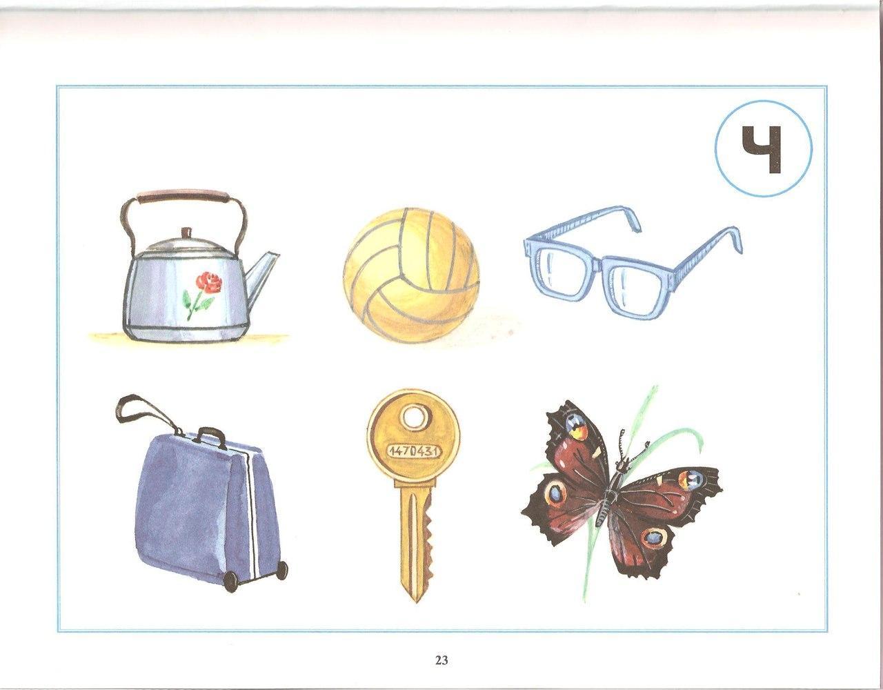 Схема логопедического обследования детей 4-5 лет