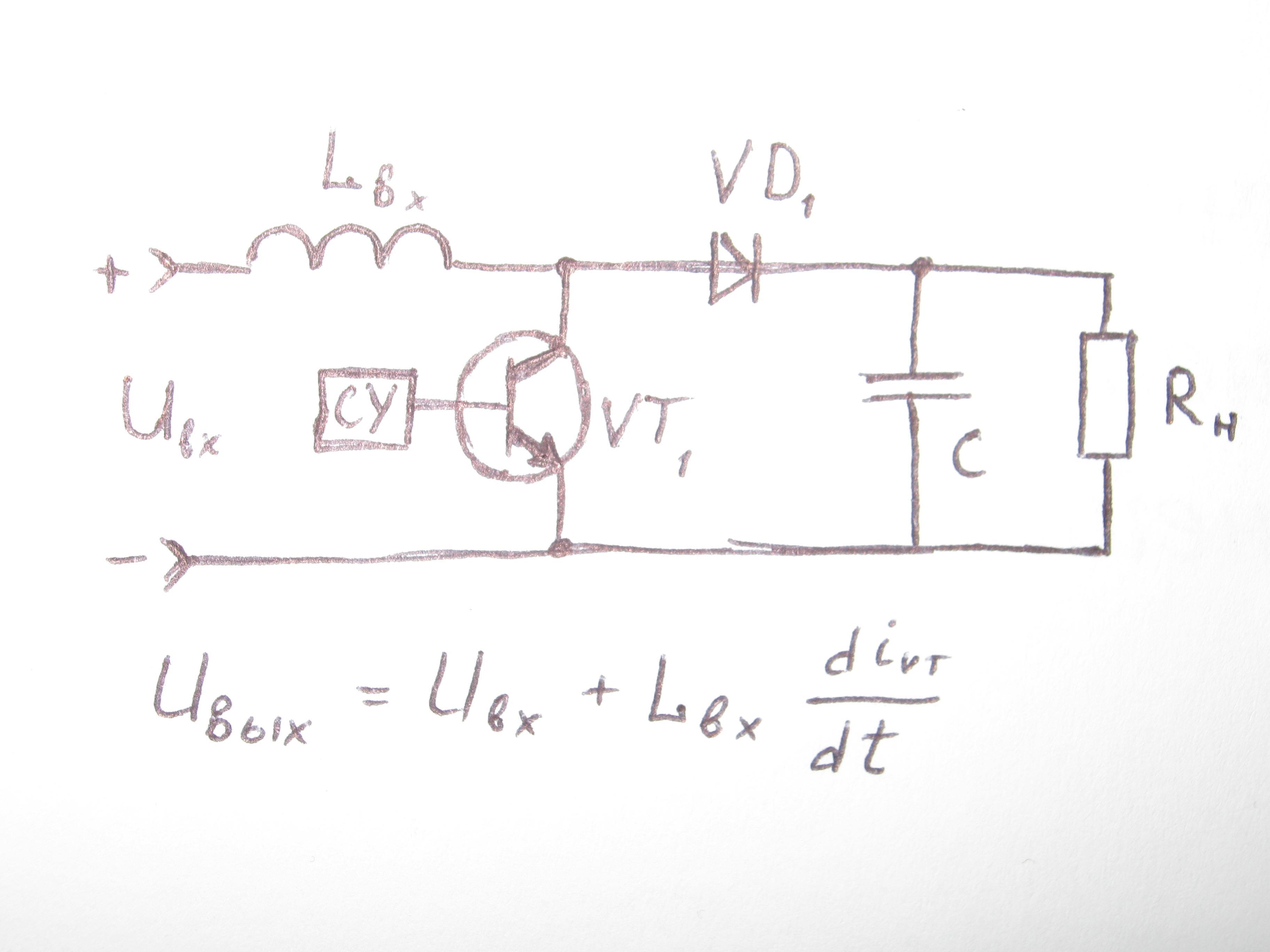 принципиальная схема регулятора напряжения трехфазная