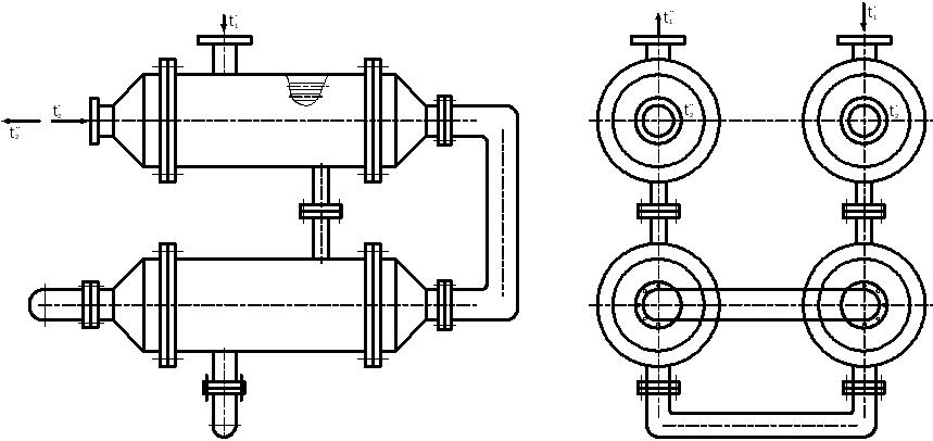 Паяный теплообменник охладитель Машимпэкс FPA 10x20-40 Хабаровск Конденсатор кожухотрубный (кожухотрубчатый) типа ККГ Кострома