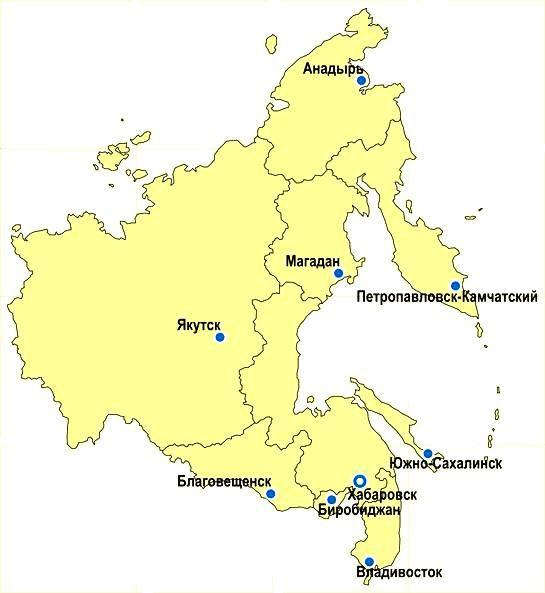 карта дальнего востока картинки уши оттащишь
