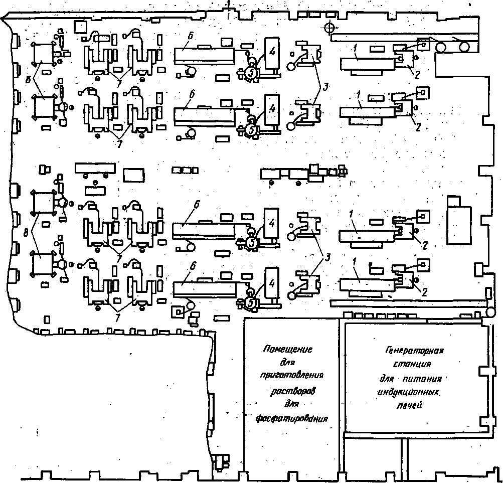 Схема цеха прессования металлов фото 963