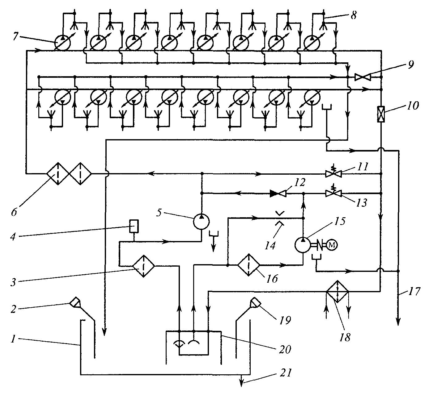 Схема топливной системы дизеля фото 846