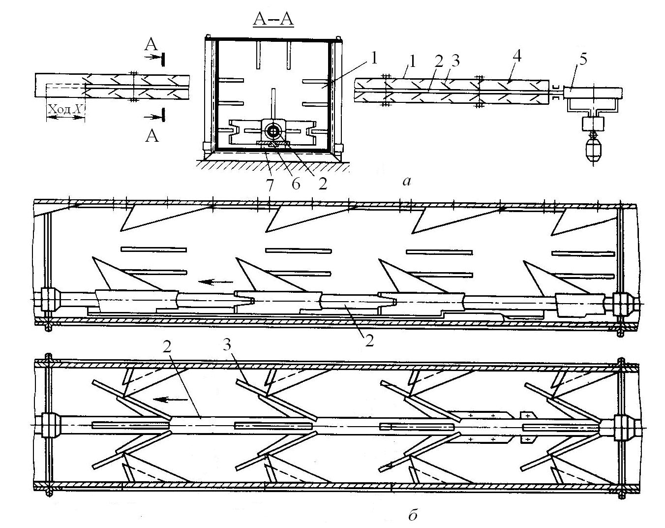 штангово скребковый транспортер