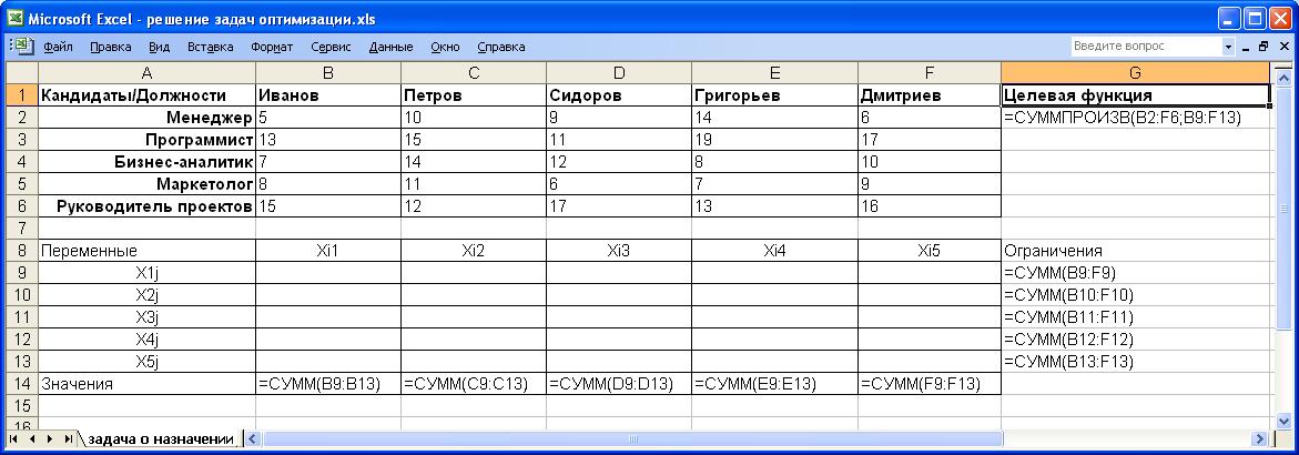 Примеры Задач Для Знакомства С Excel