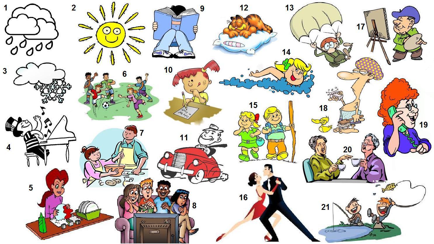 SPEAKING :PICTURE DESCRIPTION Blog de Cristina Pictures for description activities