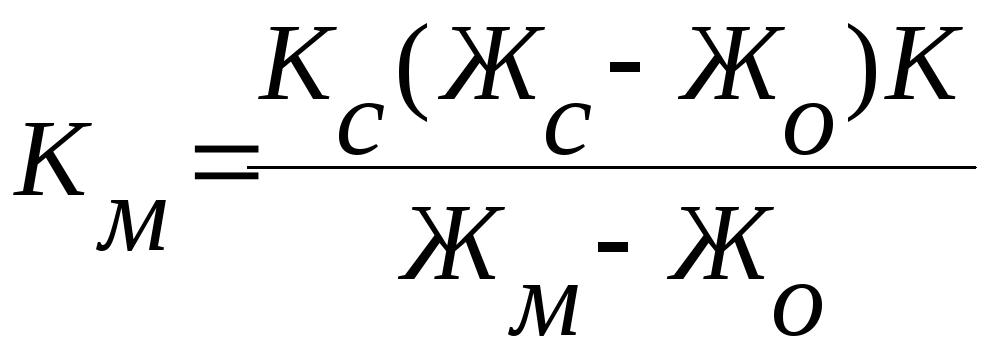Требования к контрольной работе Составить блок схему алгоритма и программу расчета расхода молока ц для получения определенного количества сливок по формуле