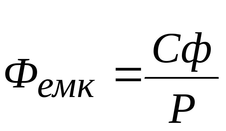 Фондооснащенность формула