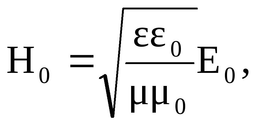 Напряженность магнитного поля и комплексная амплитуда напряженности