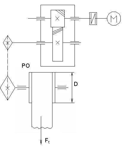 Расчет валов транспортера транспортер и накопитель