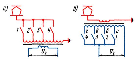 Как сделать регулировку тока на трансформаторе