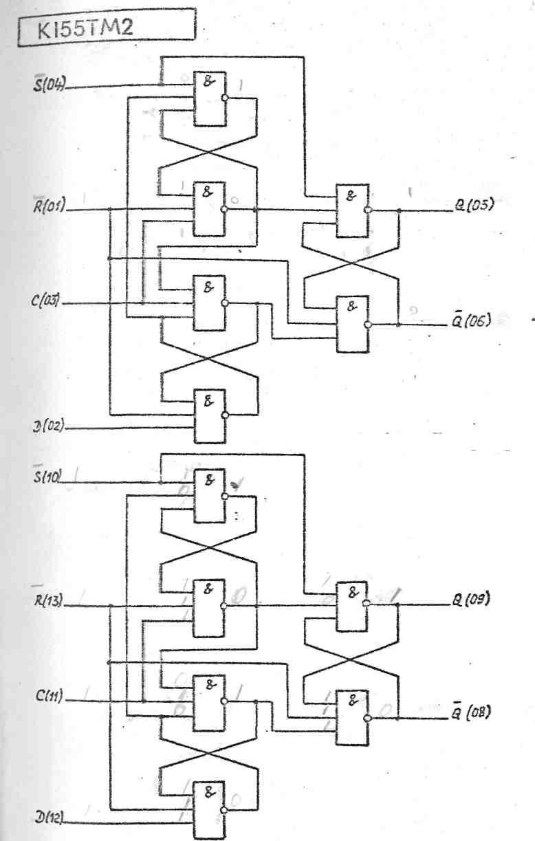 схема на к155ип3