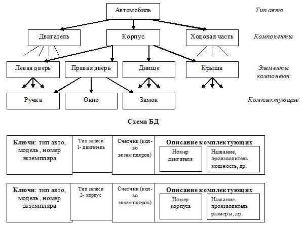 иерархическая девушка модель данных практическая работа