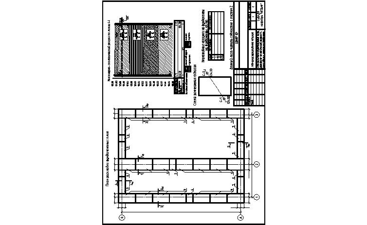 Макет оформления графической части курсовой работы