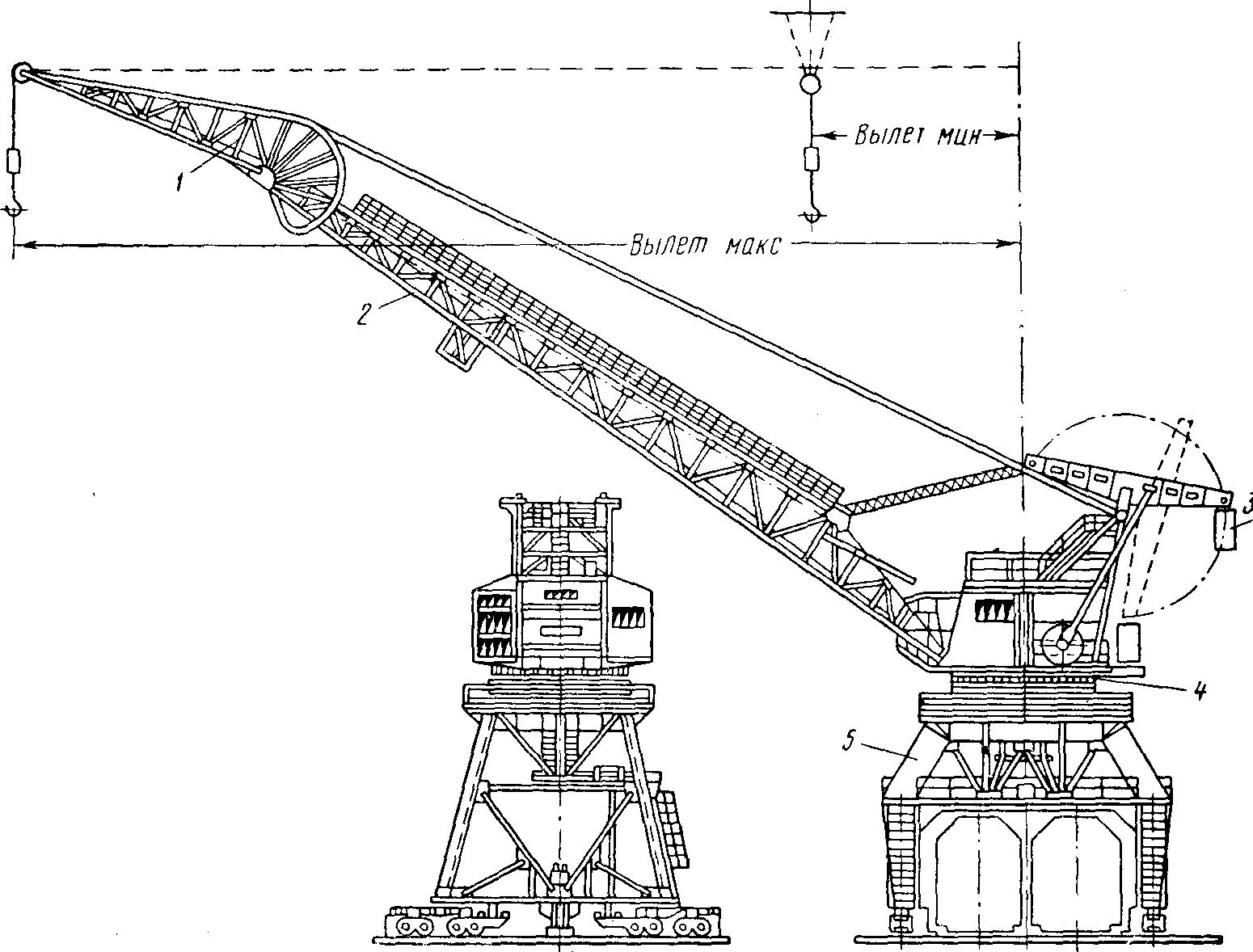 Схема портального крана альбрехт