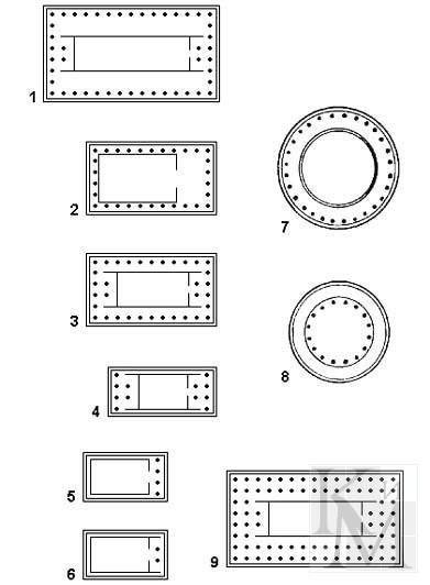 5 видов древнегреческих храмов