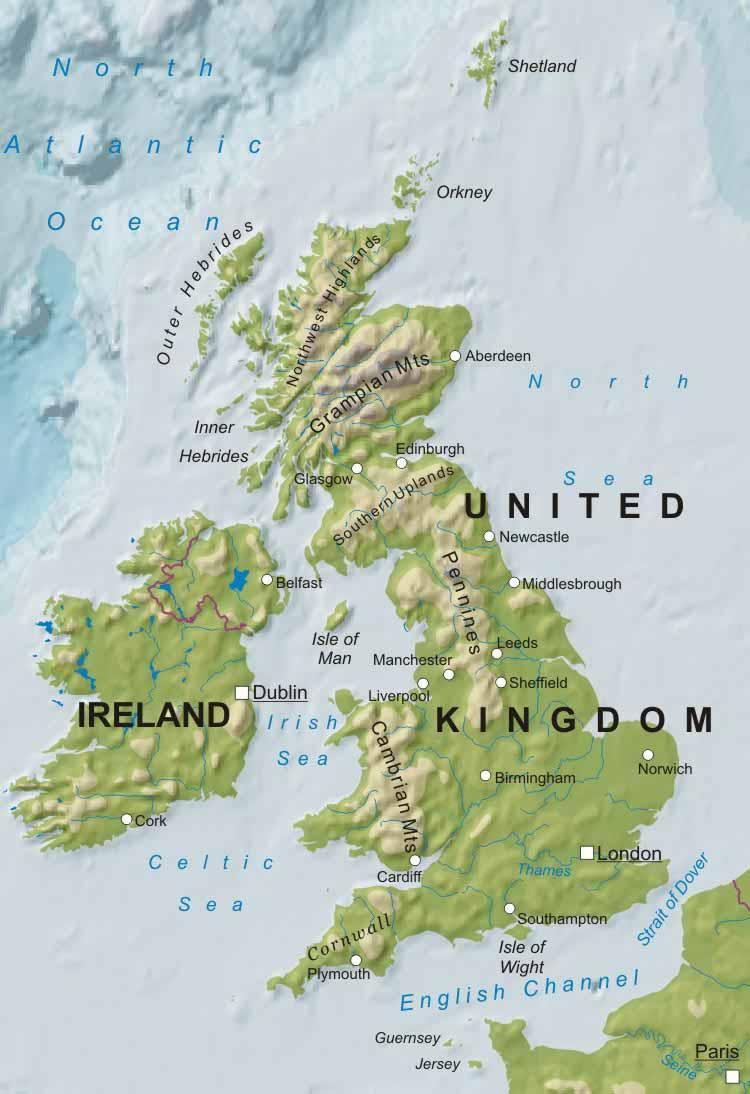 physical features of the united kingdom