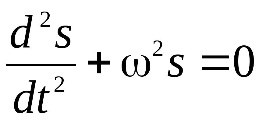 дифференциальное уравнение вынужденных колебаний имеет вид
