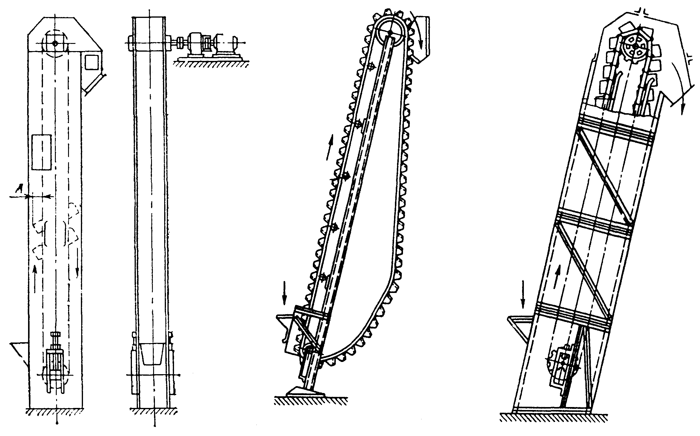 Назначение элеватора ковшового книга ремонту фольксваген транспортер