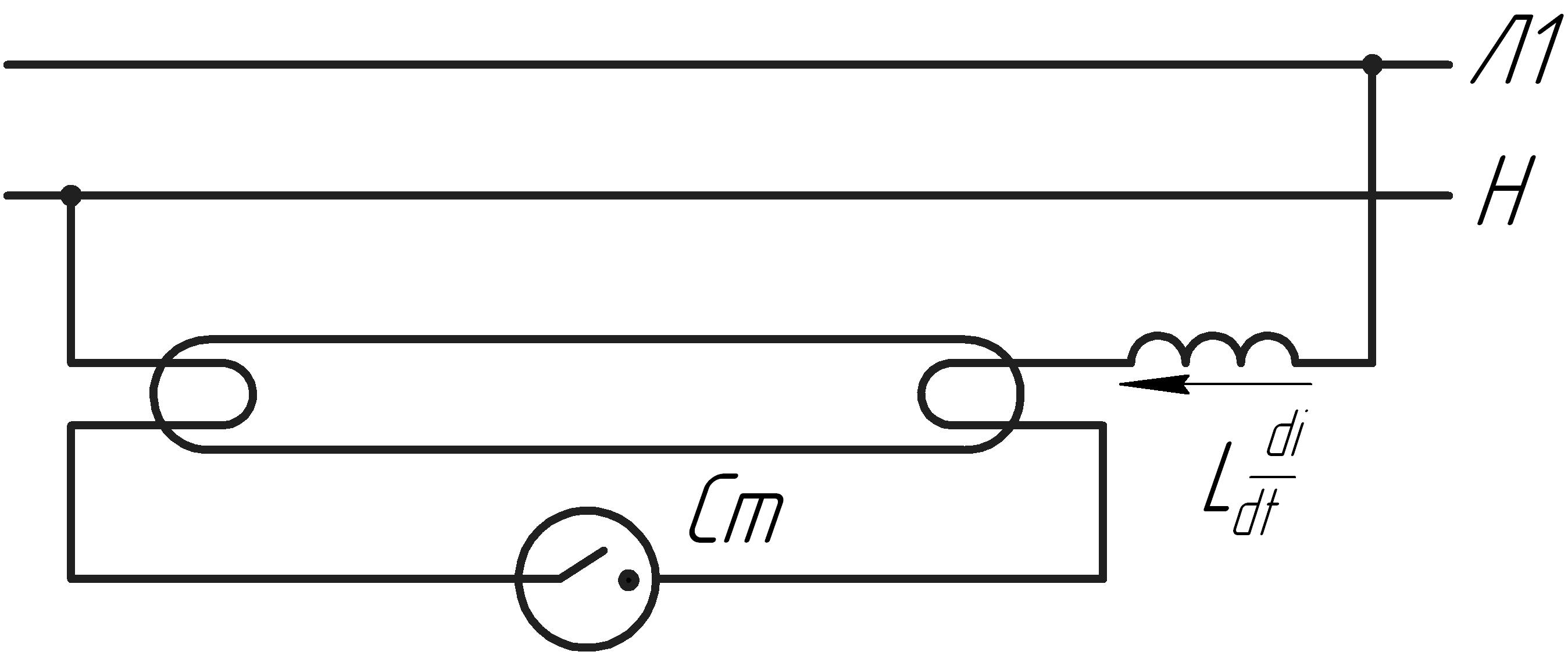 Широкополосная помеха схема