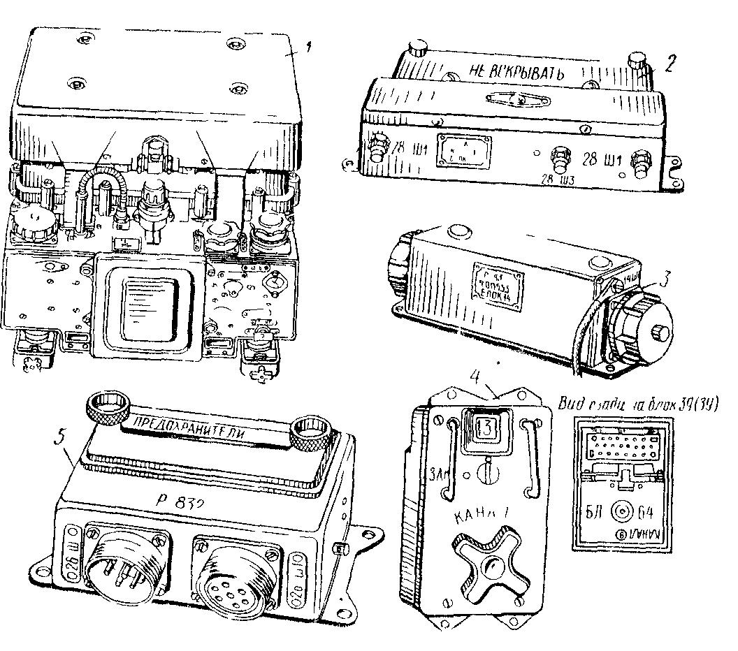 схема авиационной бортовой радиостанции