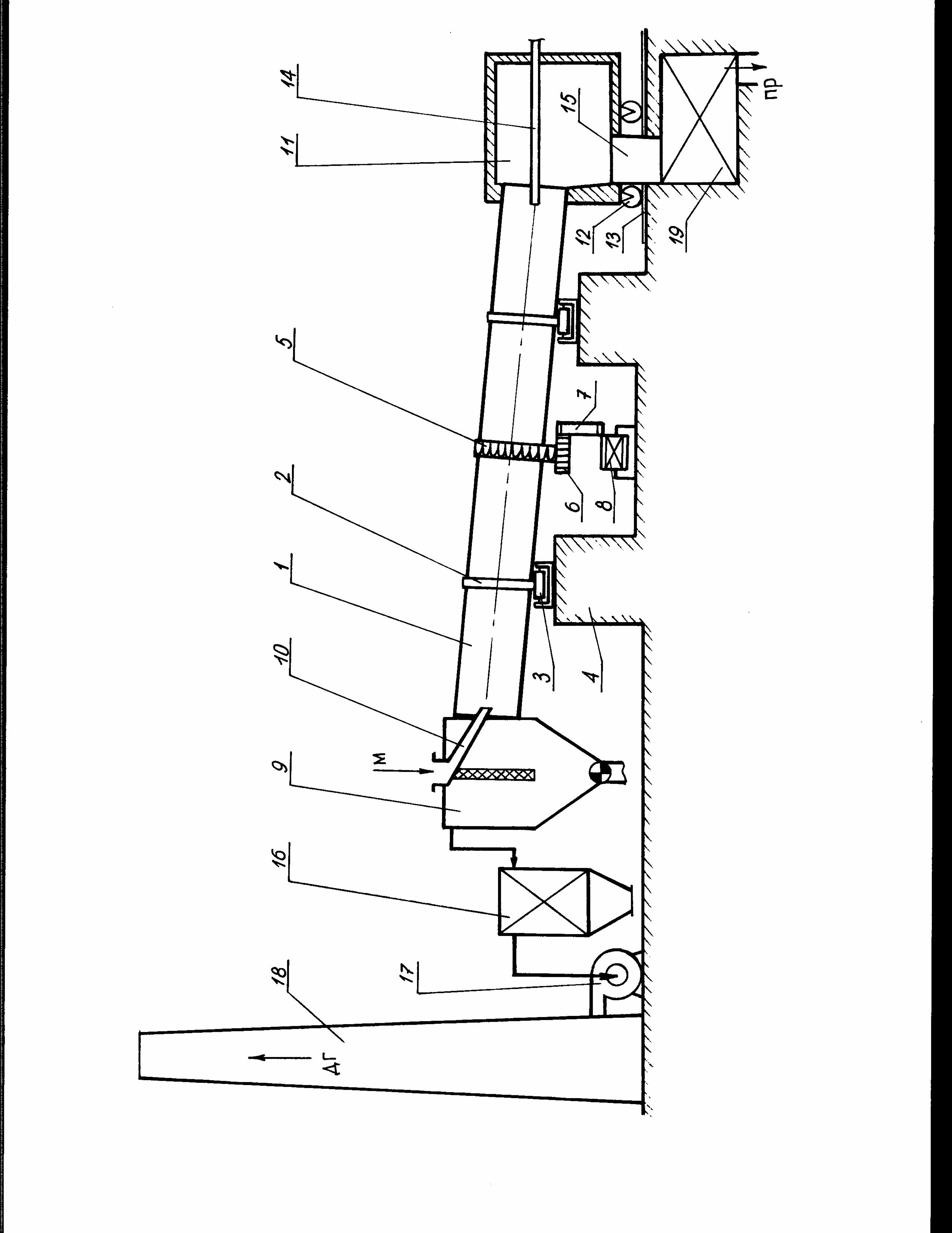 Огнеупорный бетон для футеровки горелок вращающихся печей