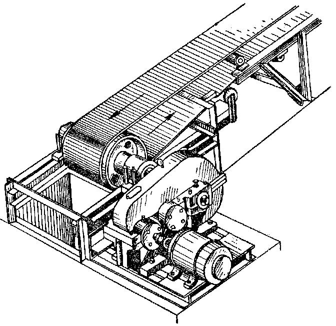 Конвейера с тяговым органом привод транспортера на разбрасыватель 1 рмг 4 осуществляется от