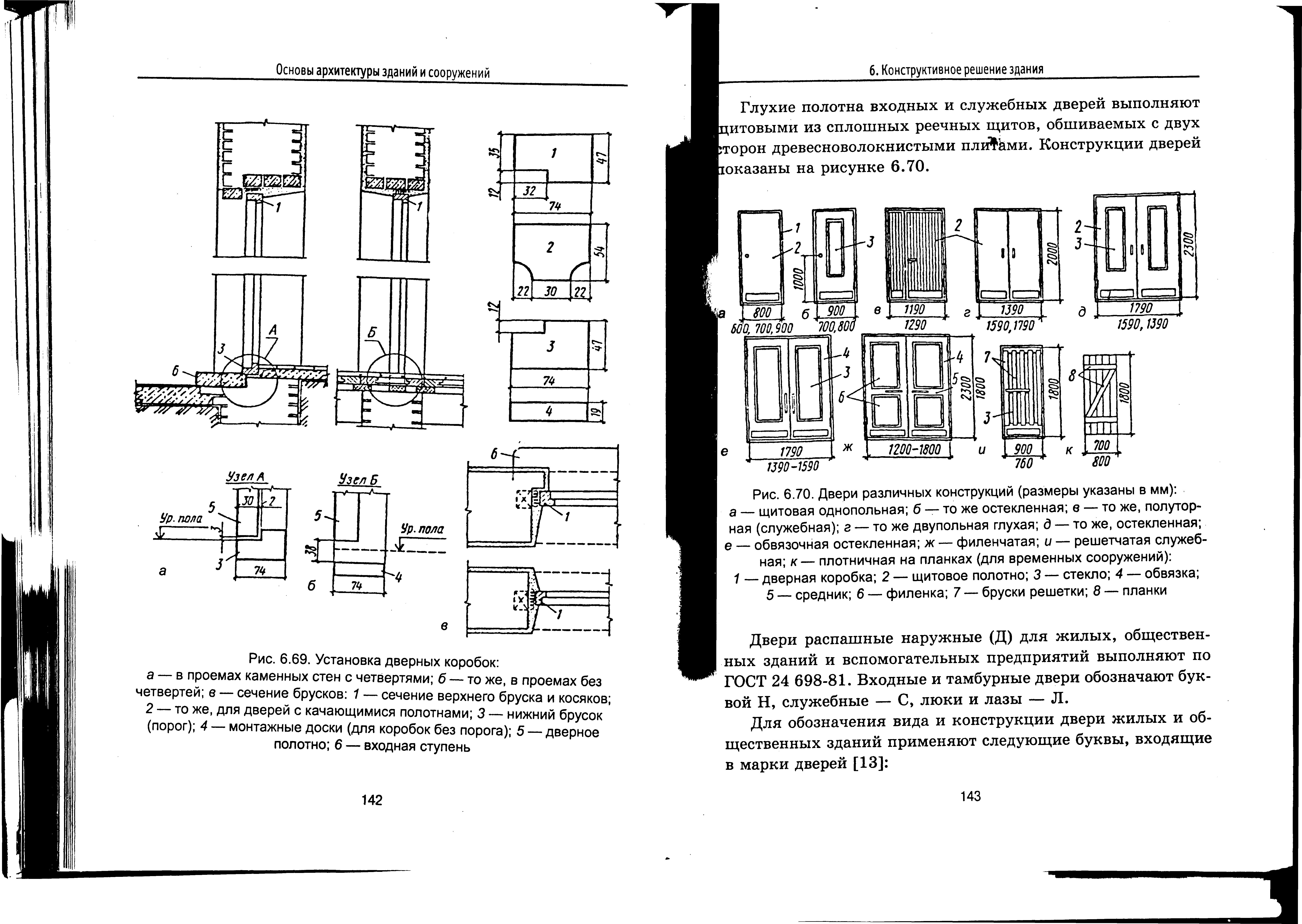 Лестницы Двери состоят из дверной коробки и открывающихся дверных полотен По назначению двери подразделяются на наружные и внутренние