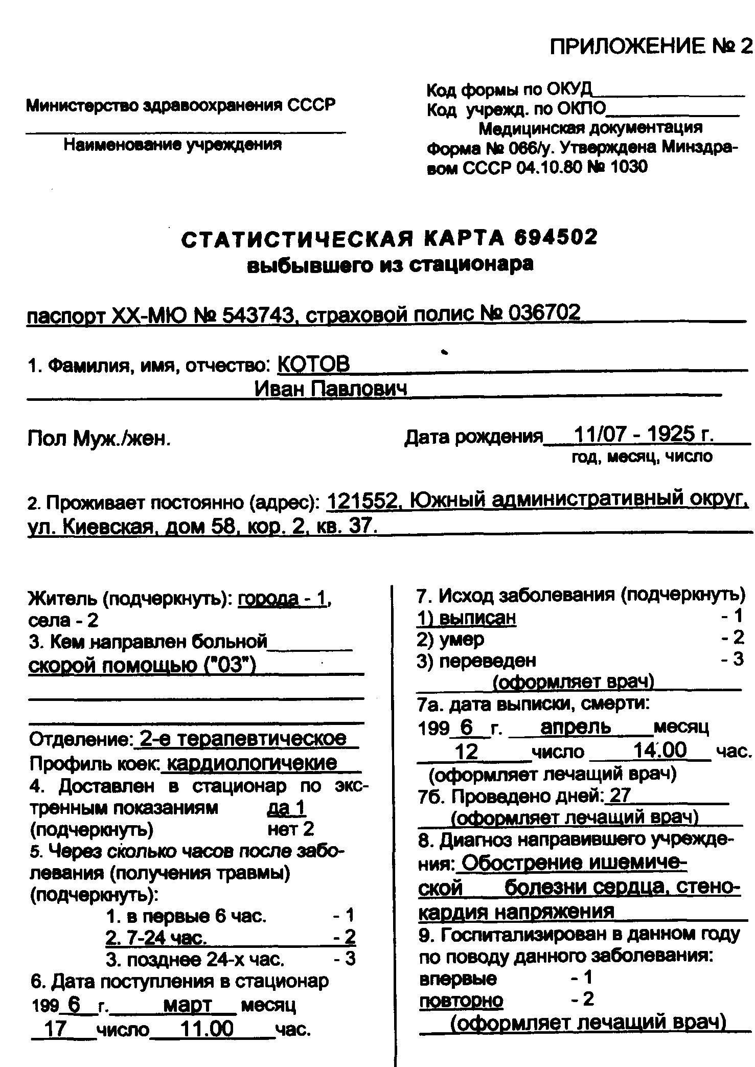 Должностные инструкции медсестры приемного отделения