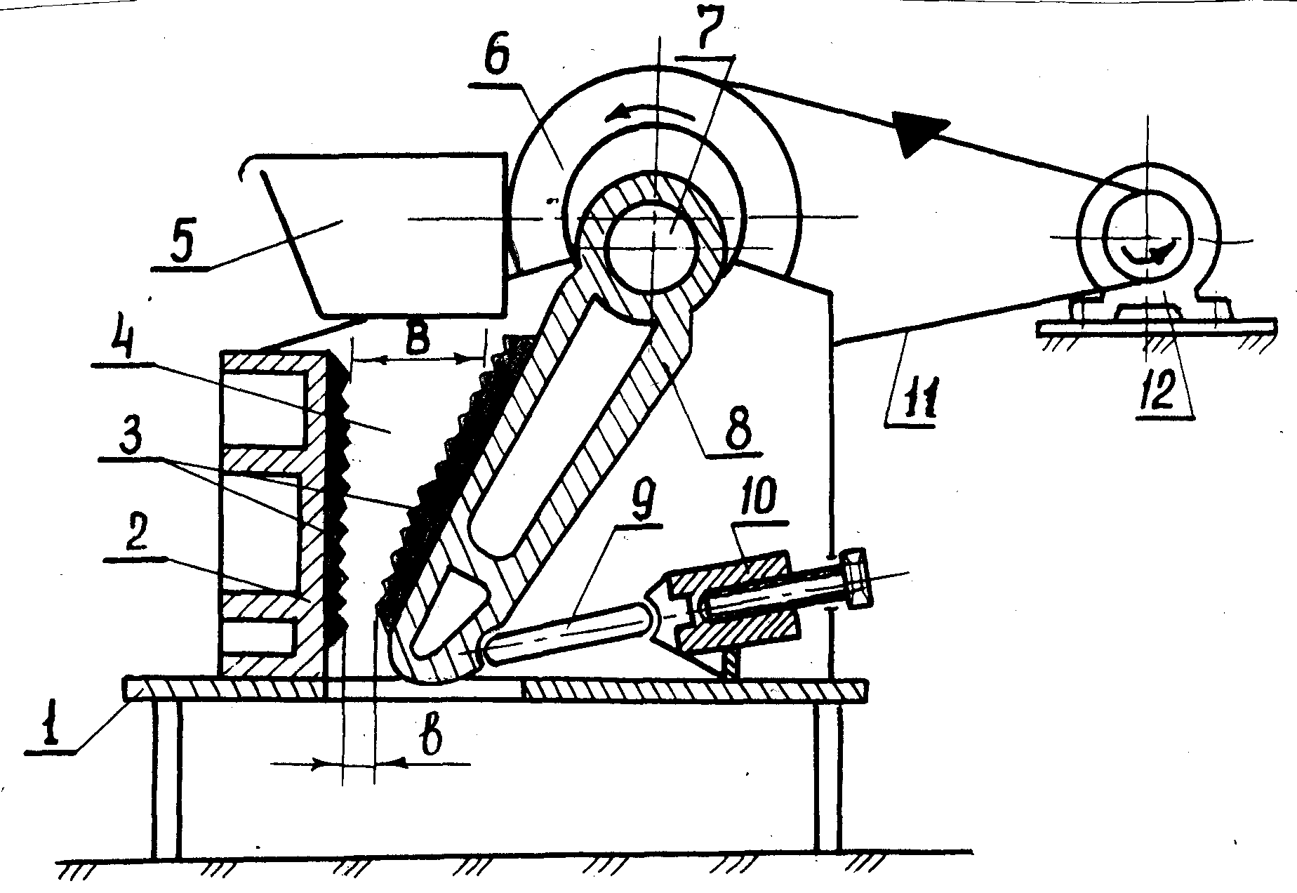 Работа щековой дробилки в Лобня дробилка роторная смд в Чита