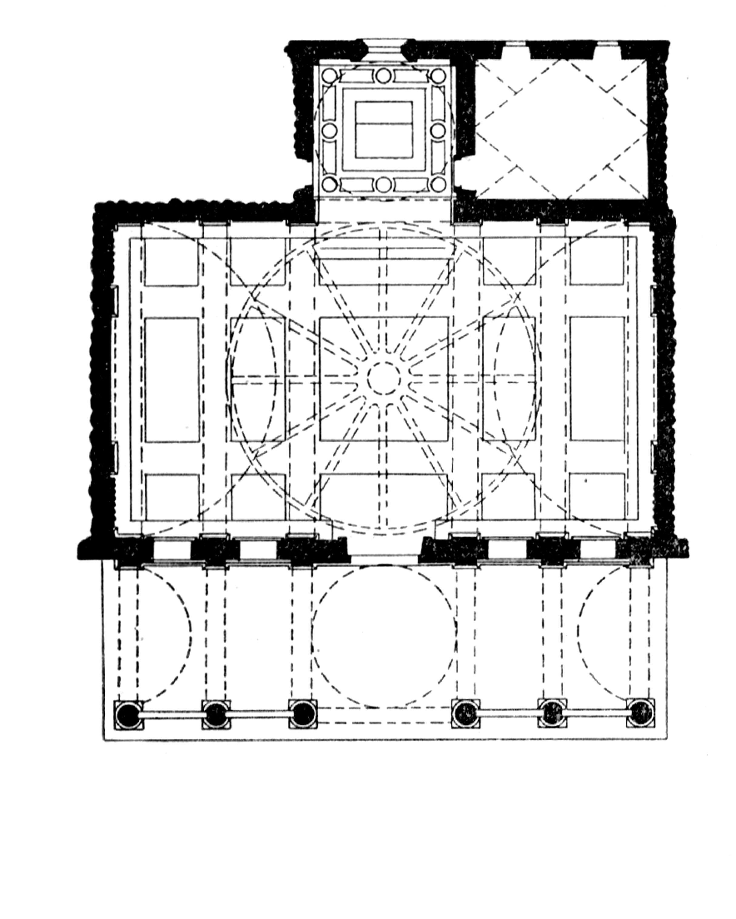 схема храма святой софии его основные части в византии