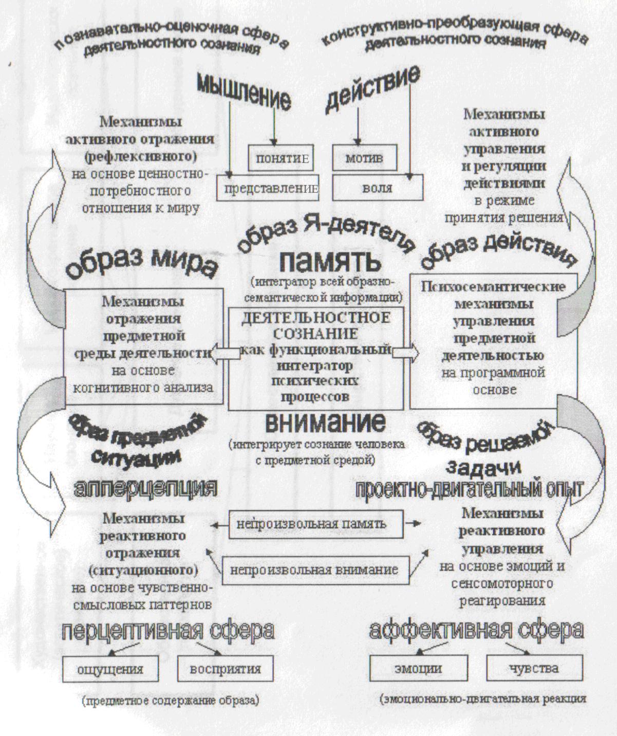 Структура общественного сознания схема фото 40