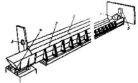 Транспортер раздатчик твк 80б ленточно цепные конвейера
