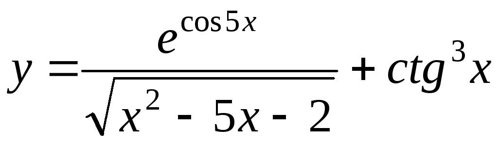 Производная и дифференциал функции одной переменной  б