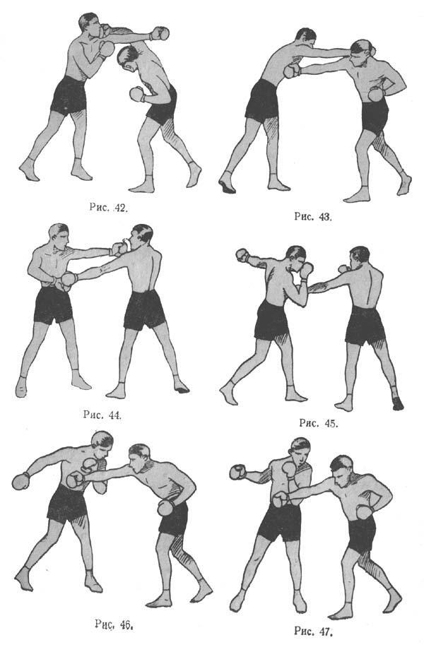Бокс удары руками в картинках поэтапно
