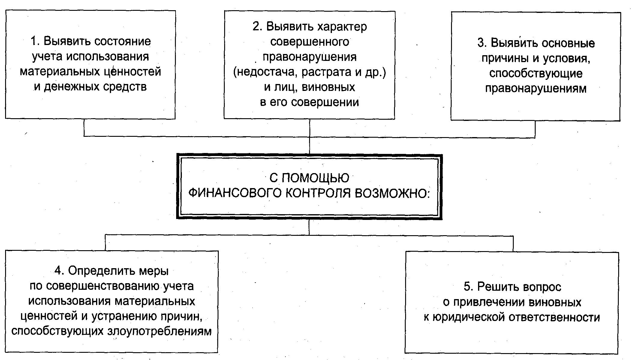 Финансовый контроль на предприятии. шпаргалка