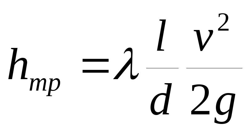 как определяются общие потери напора в трубопроводе формула банковские дебетовые