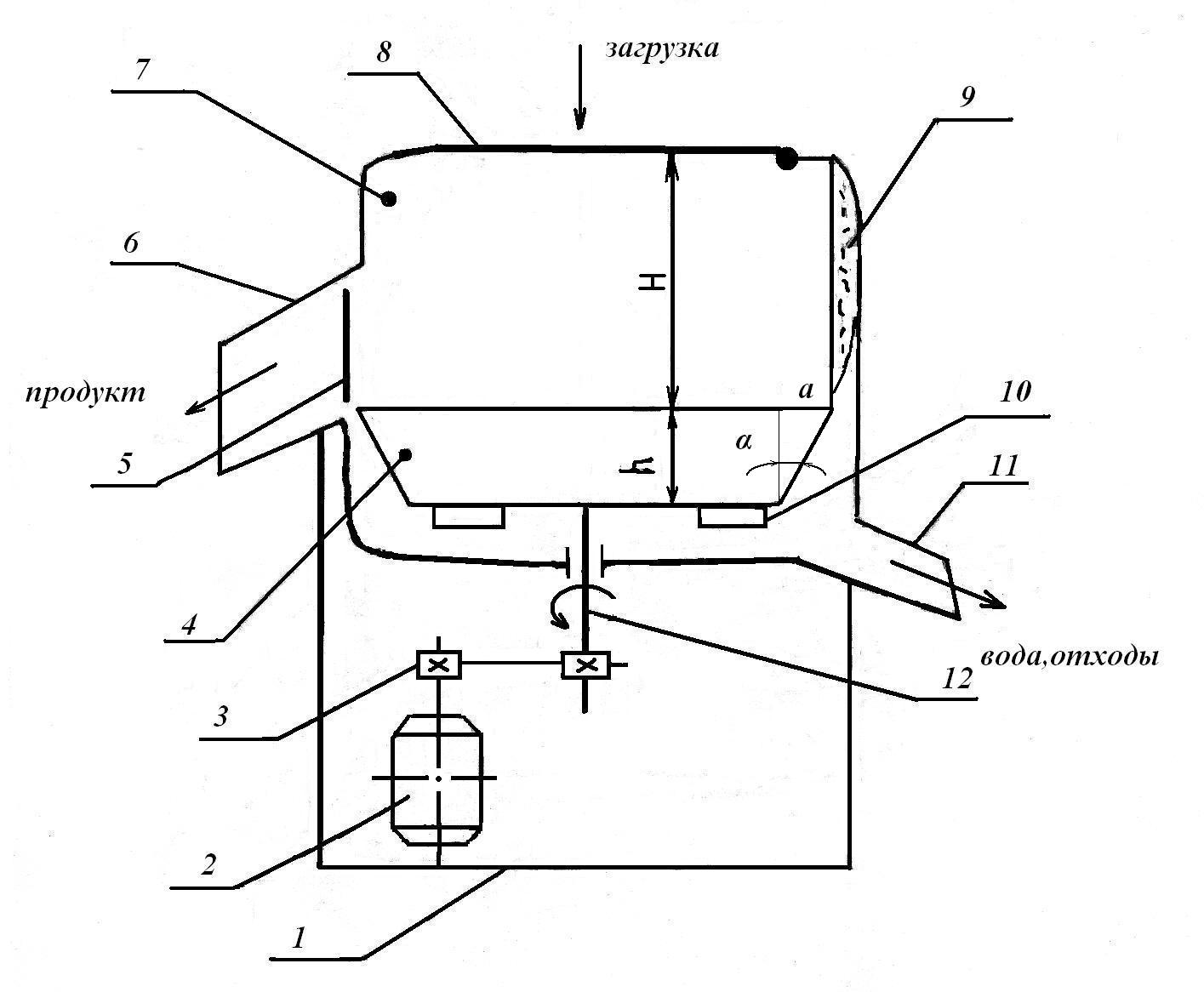 рисунок-схема универсальной машины типа мро-400-1000