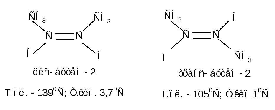 Геометрические цис транс изомеры имеют