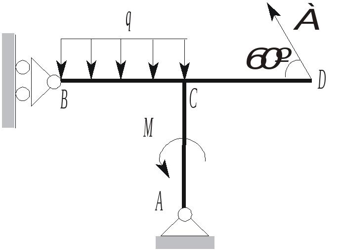 Статика примеры решения задач рама метод решения задач 6 букв