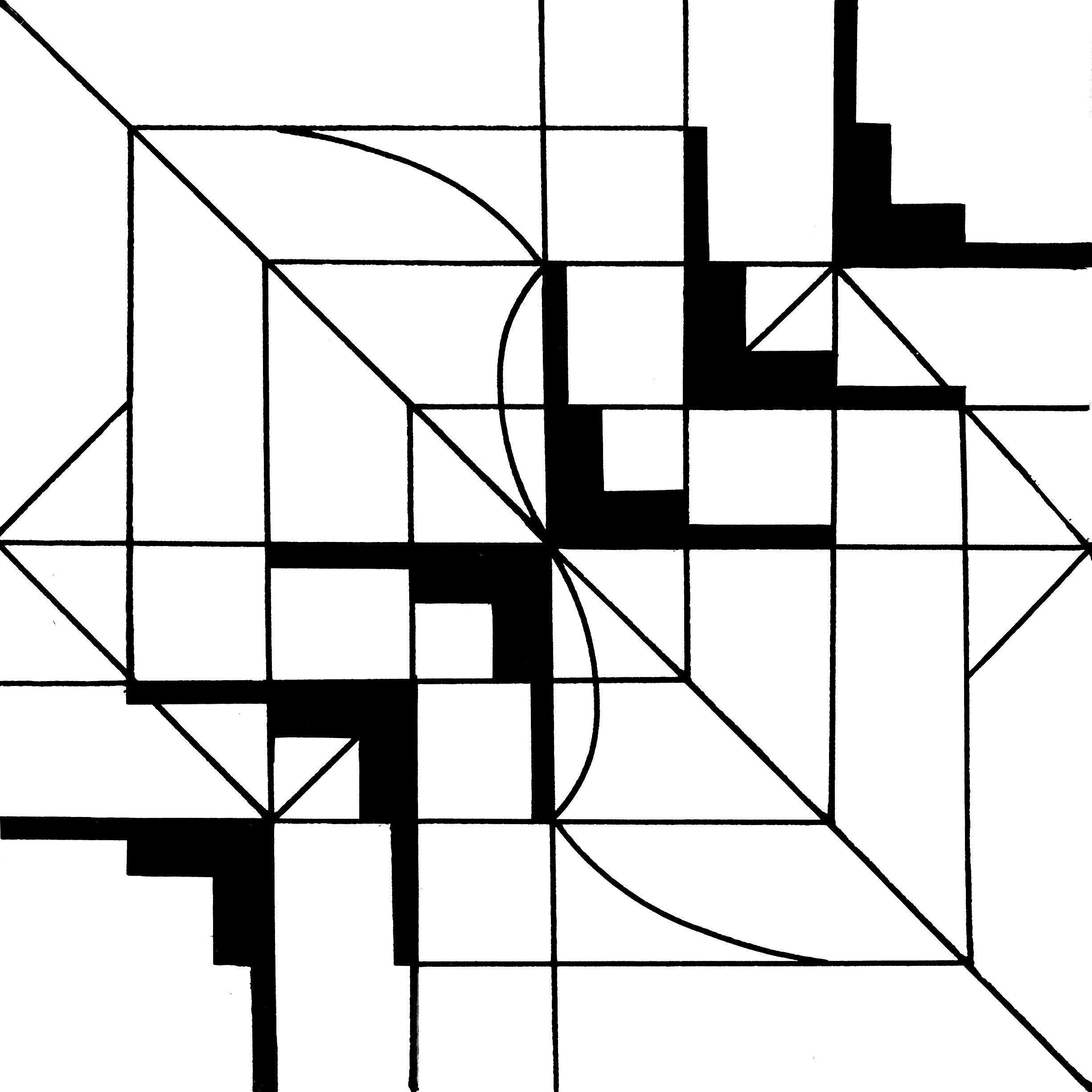 резервуаром вируса, симметрия рисунки карандашом квадраты наряду ногтями детки