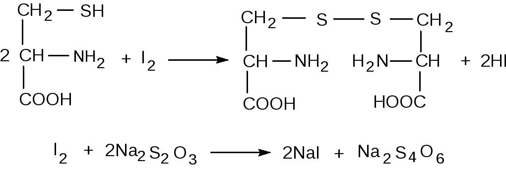 Количественное определение Избыток йода титруют раствором натрия тиосульфата индикатор крахмал Параллельно проводят контрольный опыт