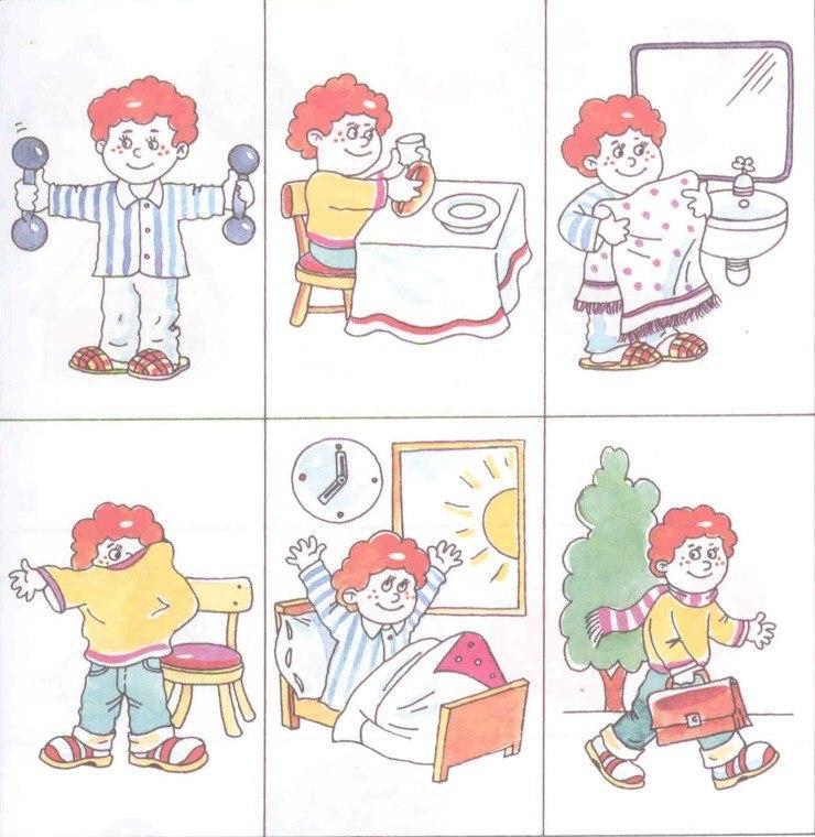 Прием когда дети изображают на рисунке сразу много предметов