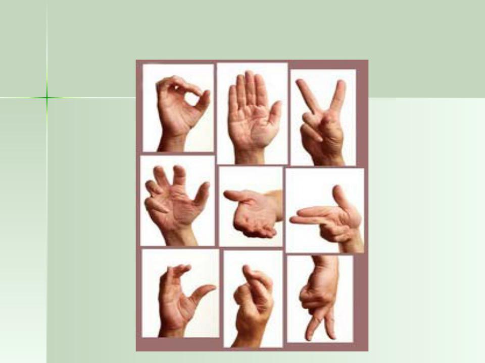 группы жестов с картинками галерея