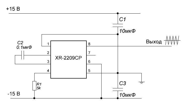Функциональные элементы стенда 2 2 2 Генератор пилообразного напряжения