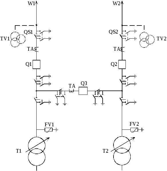 Реферат схемы электрических соединений подстанций 2618
