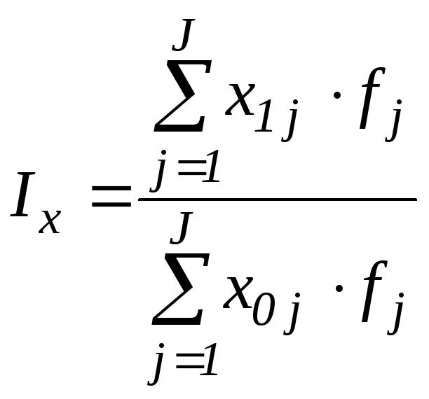 таблица по индивидуальным и агрегатным индексам