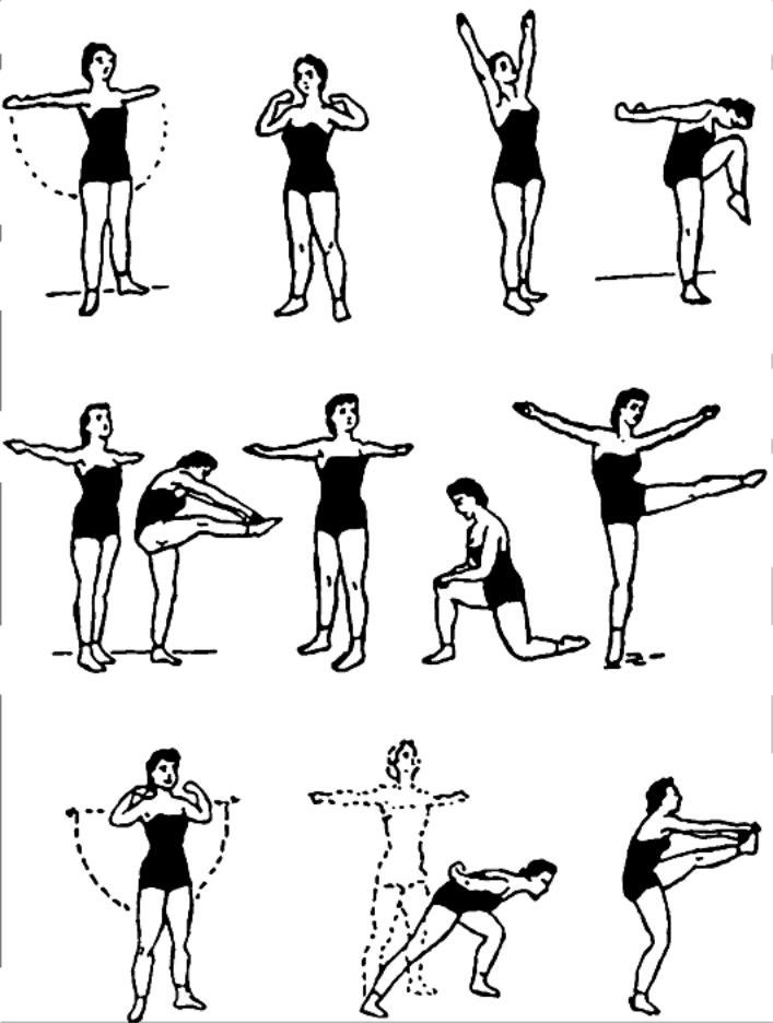 этой комплекс упражнений в картинках для лфк четкая