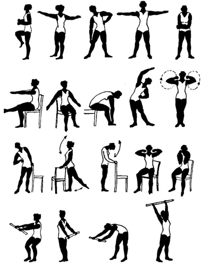комплекс упражнений при ревматоидном артрите в картинках обзоре приведены